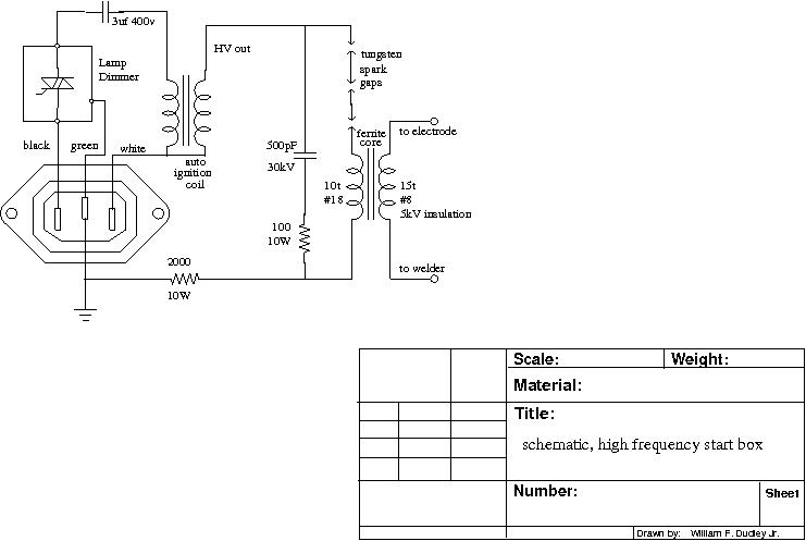 schematic high frequency start box  at bayanpartner.co